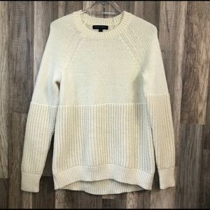 Banana Republic Italian Yarn Ivory knit Sweater
